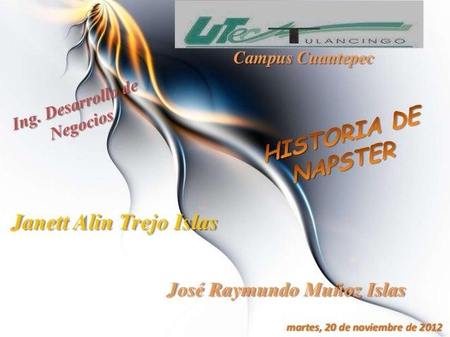 Campus CuautepecJanett Alin Trejo Islas                 José Raymundo Muñoz Islas                                martes, 2...