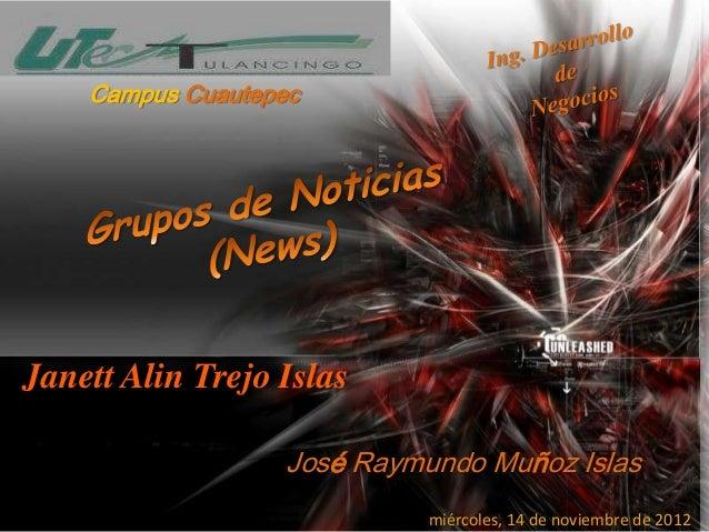 Campus CuautepecJanett Alin Trejo Islas                   José Raymundo Muñoz Islas                             miércoles,...