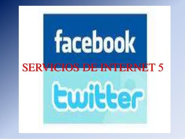 SERVICIOS DE INTERNET 5