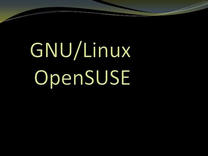 GNU/Linux es uno de    los términos  empleados para    referirse a la  combinación delnúcleo o kernel libre   similar a Un...