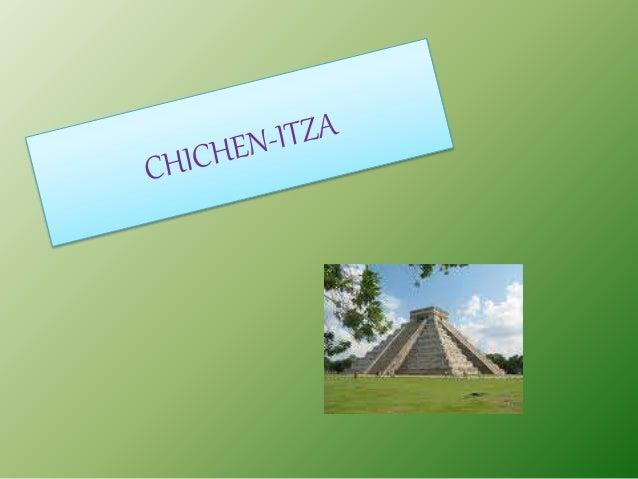 • Las edificaciones de Chichén Itzá muestran un gran número de elementos arquitectónicos e iconográficos que algunos histo...