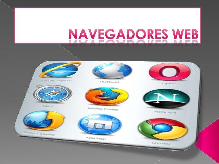 NAVEGADORES WEB<br />