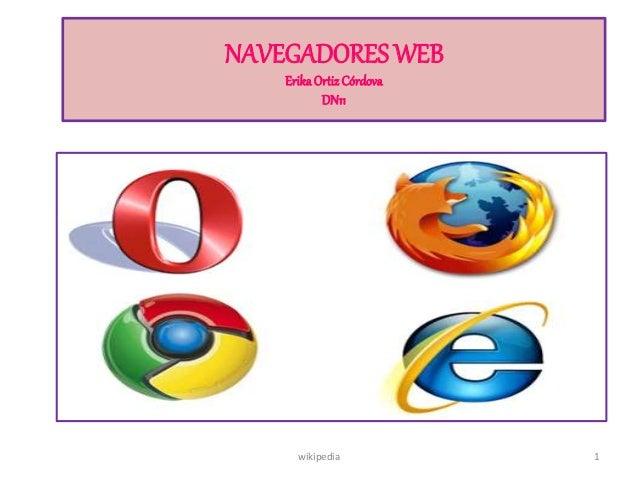 NAVEGADORES WEB ErikaOrtizCórdova DN11 1wikipedia