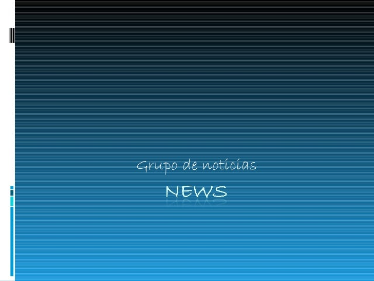 Grupo de noticias