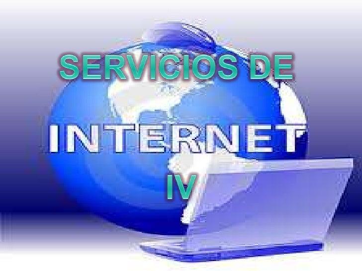 SERVICIOS DE IV<br />