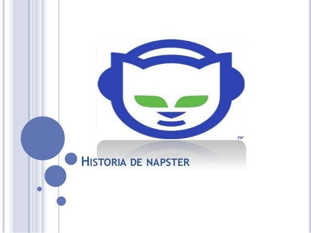 HISTORIA DE NAPSTER