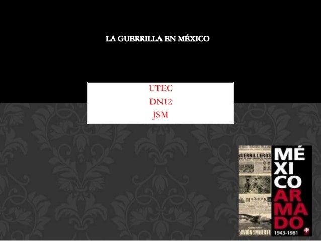 UTECDN12 JSM