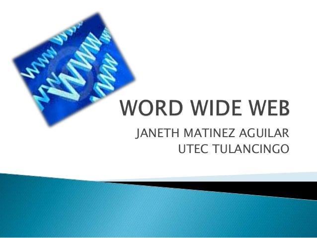 JANETH MATINEZ AGUILAR UTEC TULANCINGO
