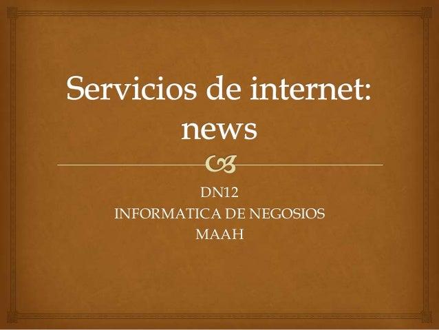 DN12INFORMATICA DE NEGOSIOS        MAAH