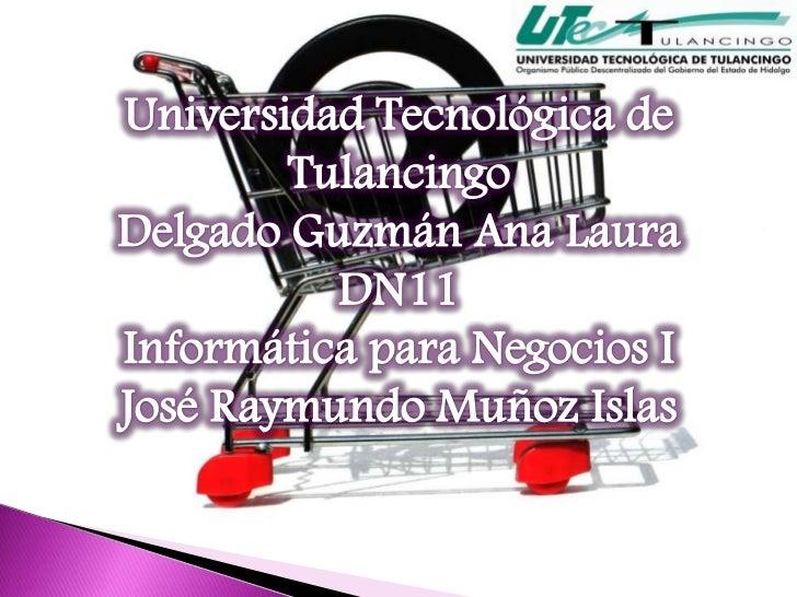 Es el estudio de las técnicas del usode Internet para publicitar y vender productosy servicios.