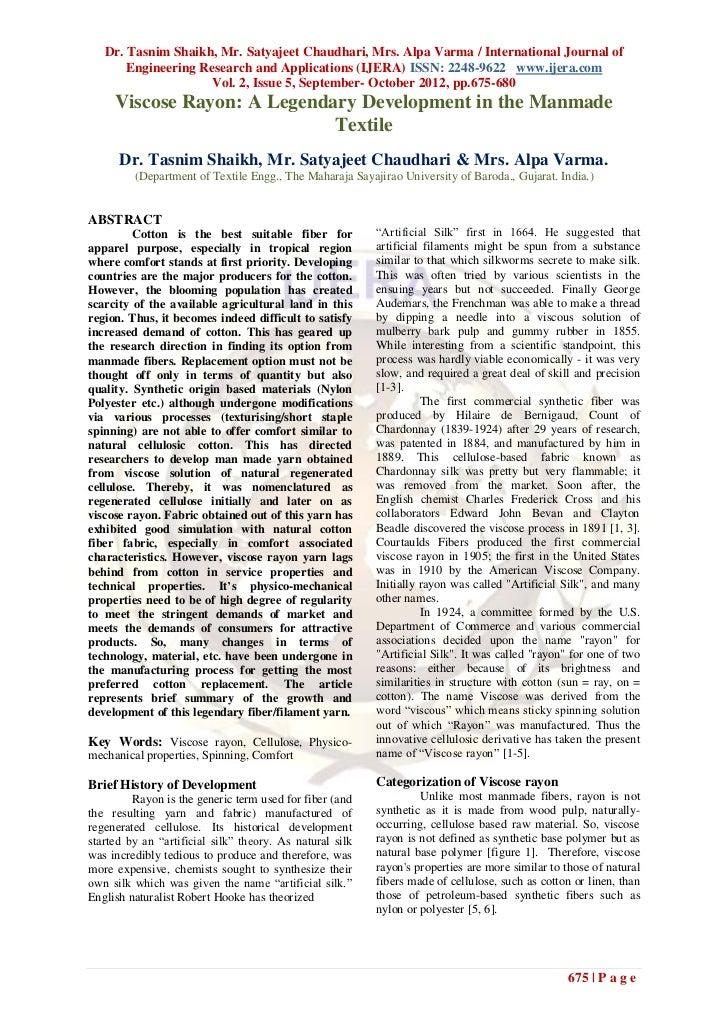 Dr. Tasnim Shaikh, Mr. Satyajeet Chaudhari, Mrs. Alpa Varma / International Journal of       Engineering Research and Appl...