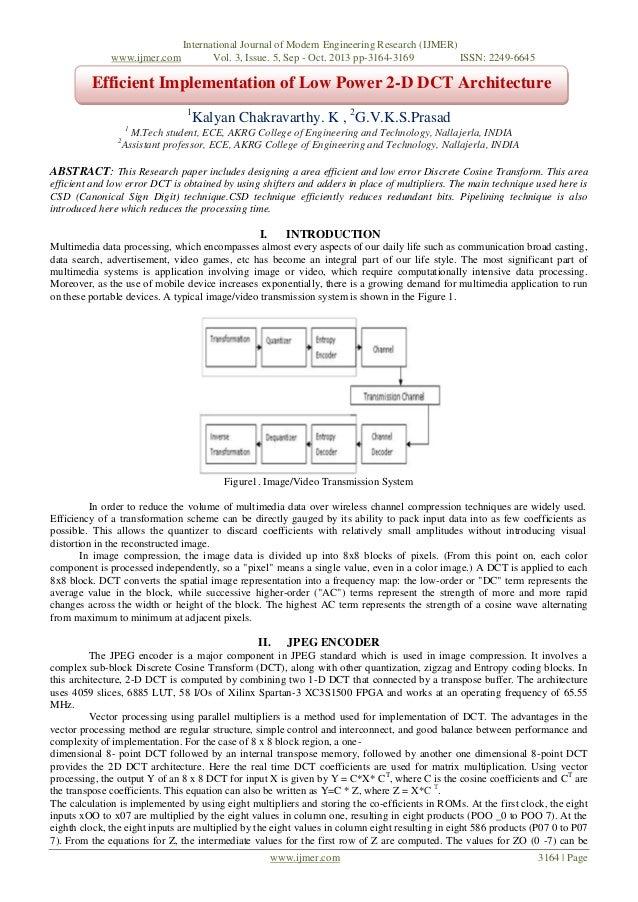 www.ijmer.com  International Journal of Modern Engineering Research (IJMER) Vol. 3, Issue. 5, Sep - Oct. 2013 pp-3164-3169...