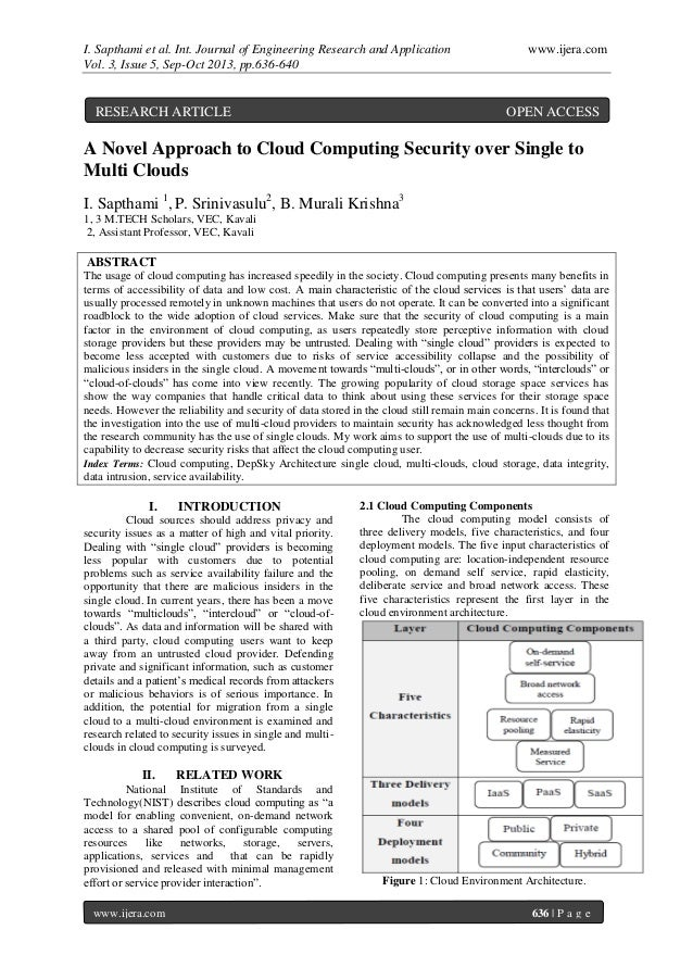 I. Sapthami et al. Int. Journal of Engineering Research and Application www.ijera.com Vol. 3, Issue 5, Sep-Oct 2013, pp.63...