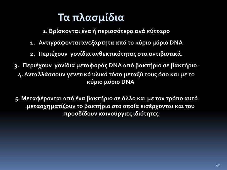 Ένα ή δύο αντίγραφα DNA;<br />39<br />