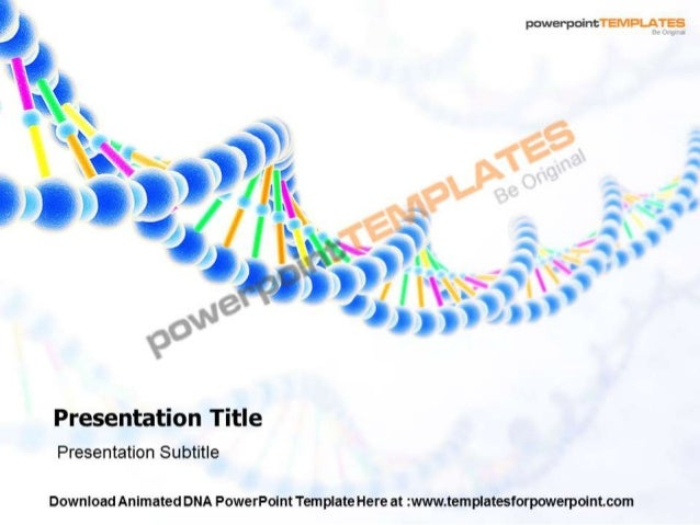 Animated dna powerpoint templates and backgrounds toneelgroepblik Choice Image