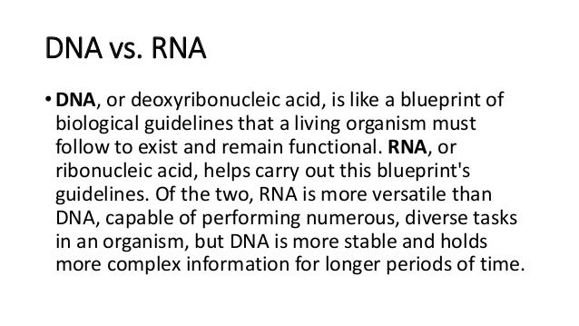 D na and rna dna vs malvernweather Image collections