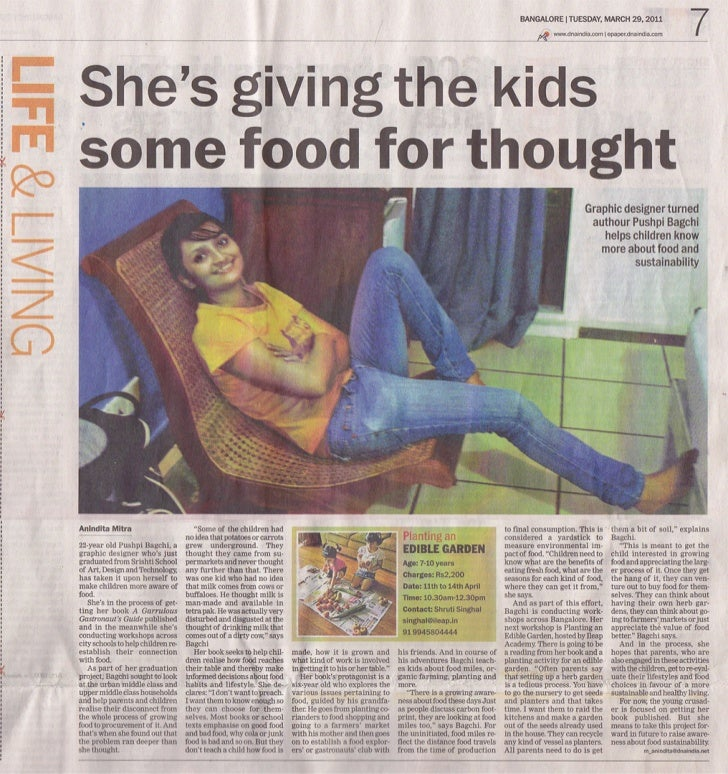 Article in the DNA newspaper
