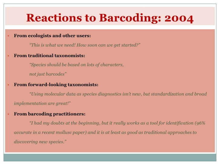 Thesis On Dna Barcoding – 515369