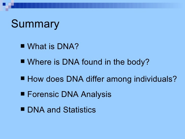 what is dna forensic Dna profiling is commonly used as a forensic technique in criminal investigations, for example comparing one or more individuals' profiles to dna found at a crime scene so as to assess the likelihood of their involvement in the crime.