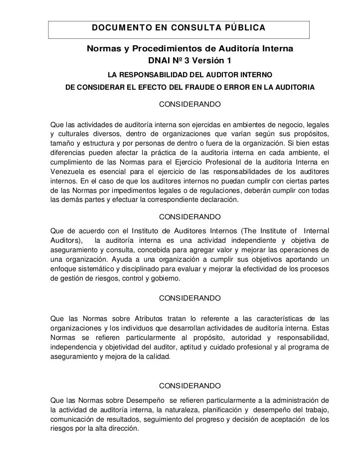 DOCUMENTO EN CONSULTA PÚBLICA                                                                                            ...