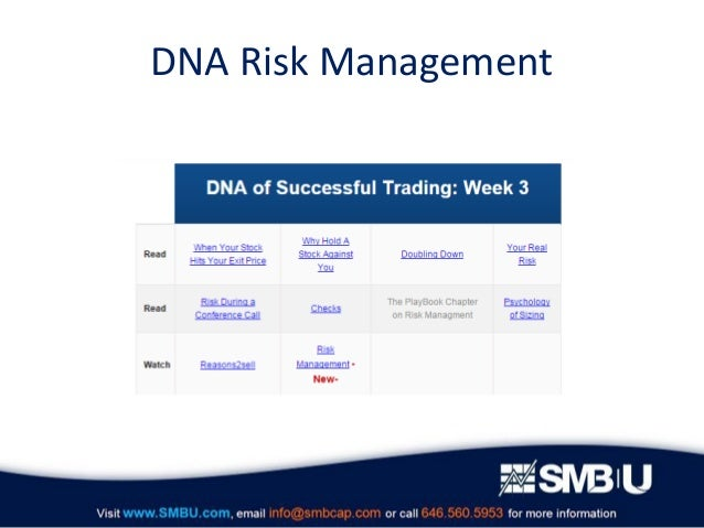 Dna trading system