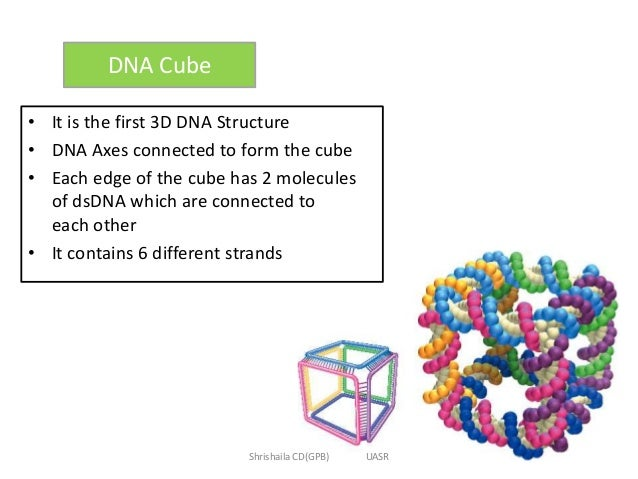 Dna nanotechnology dna cube it is the first 3d dna structure ccuart Image collections