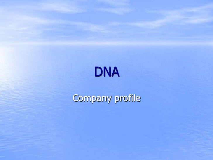 DNACompany profile