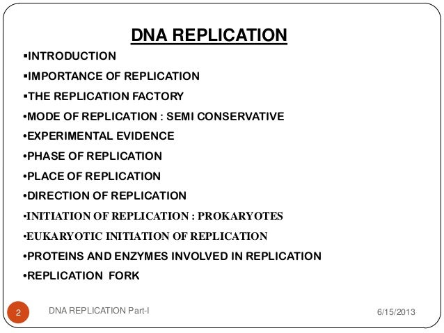 importance of dna