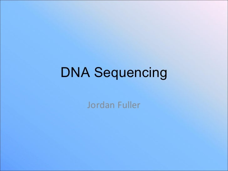 dna sequencing maxam gilbert method pdf