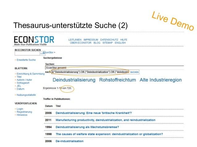 Thesaurus-unterstützte Suche (2) Page 33