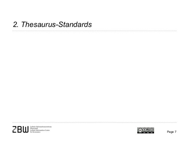 2. Thesaurus-Standards Page 7