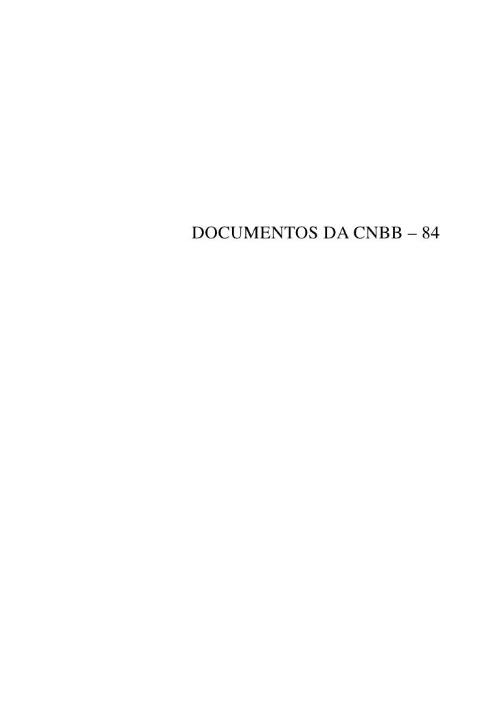DOCUMENTOS DA CNBB – 84
