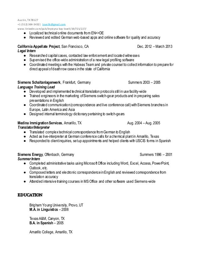 Funky Siemens Energy Resume Inspiration - Best Resume Examples by ...