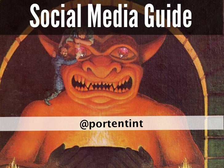 Social Media Guide                               @portentint                                                          port...