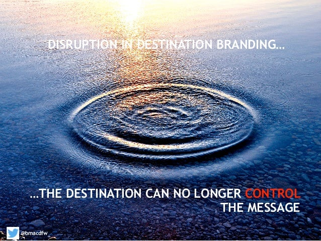 destination marketing branding the destination Tourism destination and tourist attraction destination marketing tourism destination marketing is about all the activities in ensuring the consistency of the destination's image therefore they should be actively involved in the process of destination branding as they form part.