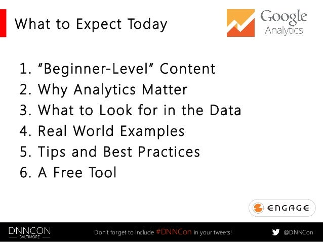 Analytics In, Analytics Out: Using Google Analytics to Guide and Grade Web Projects Slide 3