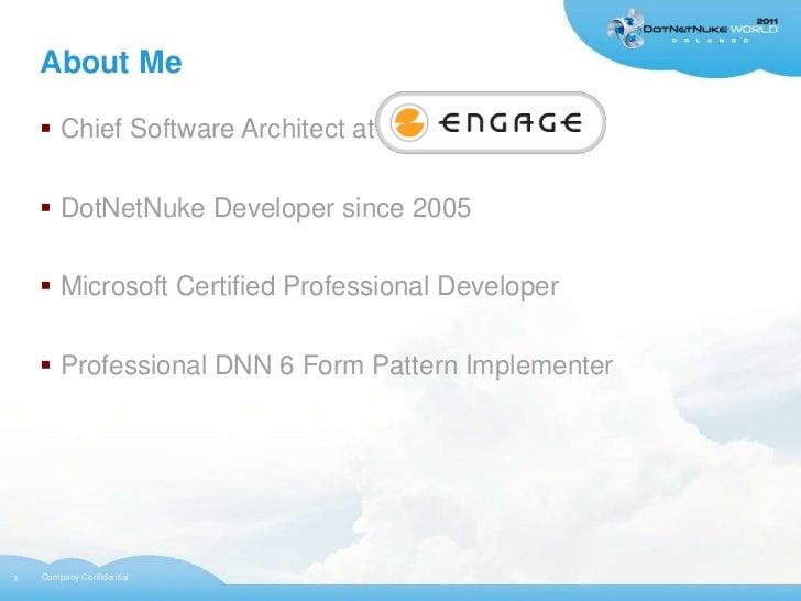 DNN 6 UI/UX Patterns Slide 3