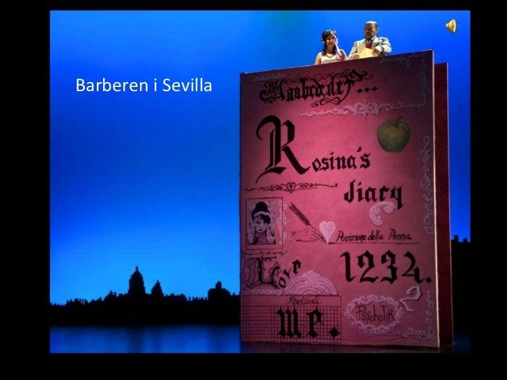 Barberen i Sevilla         Barberen i Sevilla