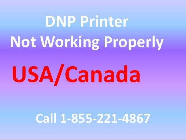 DNP Printer Tech Support Number#1-855-221-4867|$#!!%@#DNP