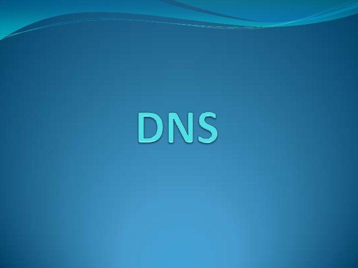 DNS<br />