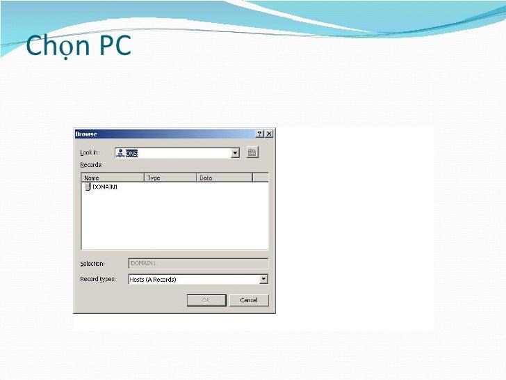 Chọn PC