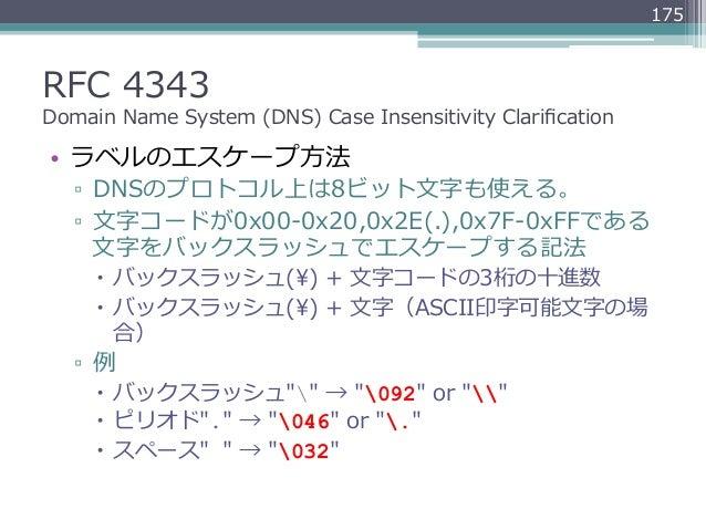 DNSのRFCの歩き方