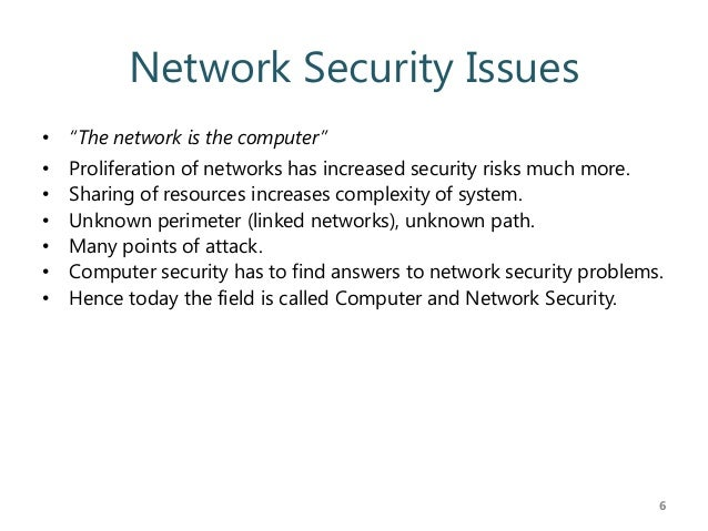 problems in network security Network security and preserving network integrity modern enterprises are constantly at odds with various security issues their networks face on a daily basis.