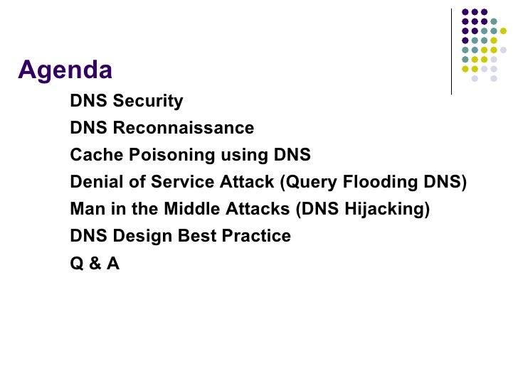Dns protocol design attacks and security Slide 3