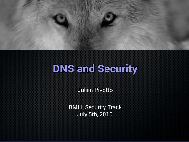 DNS and SecurityDNS and SecurityDNS and SecurityDNS and SecurityDNS and SecurityDNS and SecurityDNS and SecurityDNS and Se...