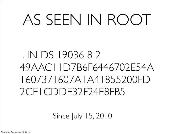 Dnssec root-lacnog Slide 2