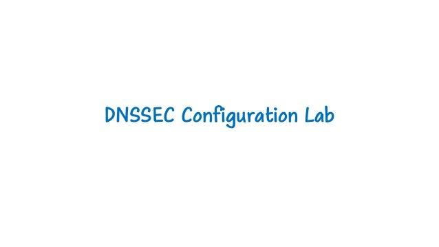 DNSSEC Configuration Lab