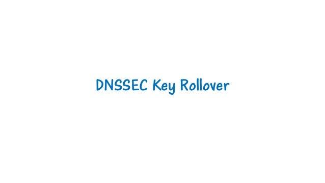 DNSSEC Key Rollover