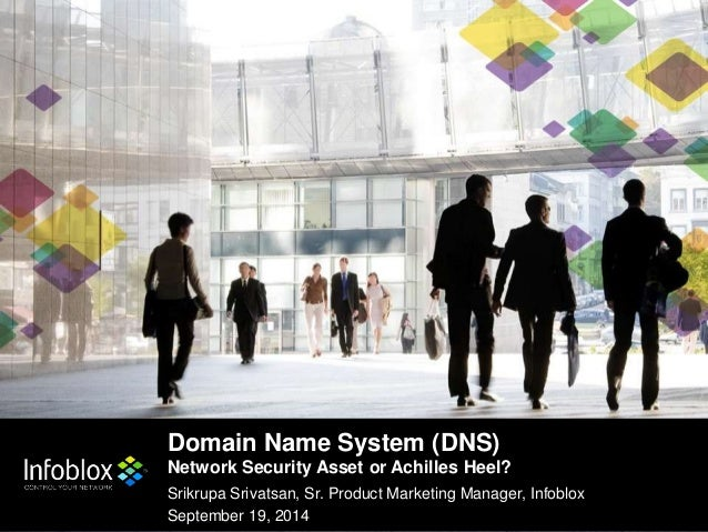 Domain Name System (DNS)  Network Security Asset or Achilles Heel?  Srikrupa Srivatsan, Sr. Product Marketing Manager, Inf...