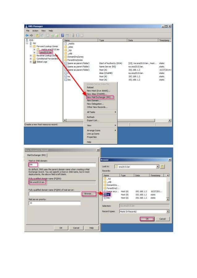 DNS windows server(2008R2) & linux(SLES 11)